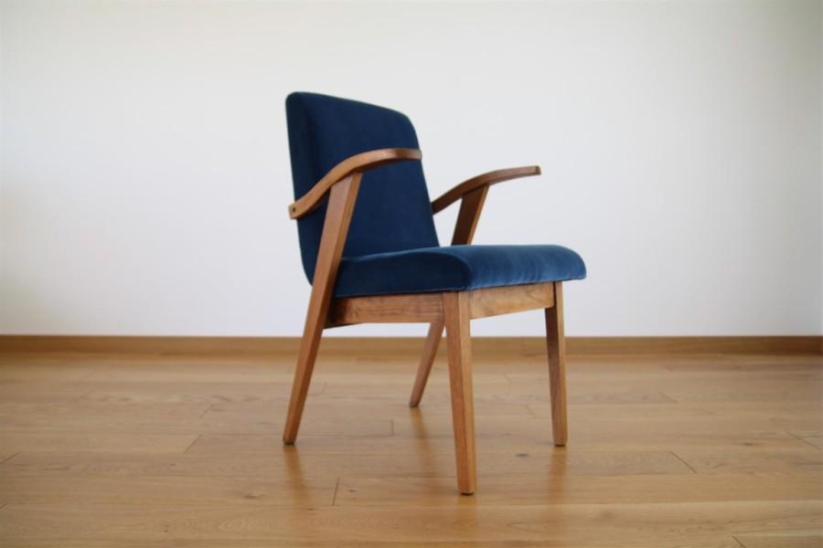 M.Puchala minimalistic armchair.1959