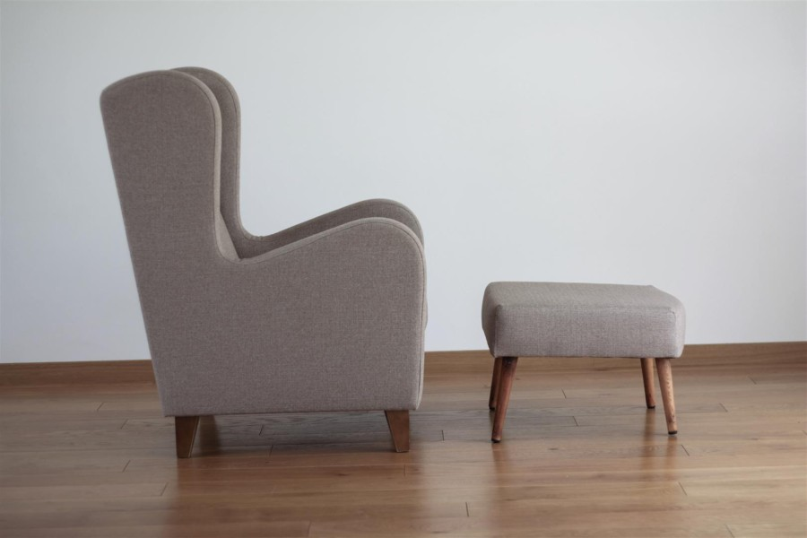 Scandinavian armchair. Mid Century Modern design