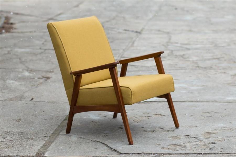 Armchair. Mustard.1960