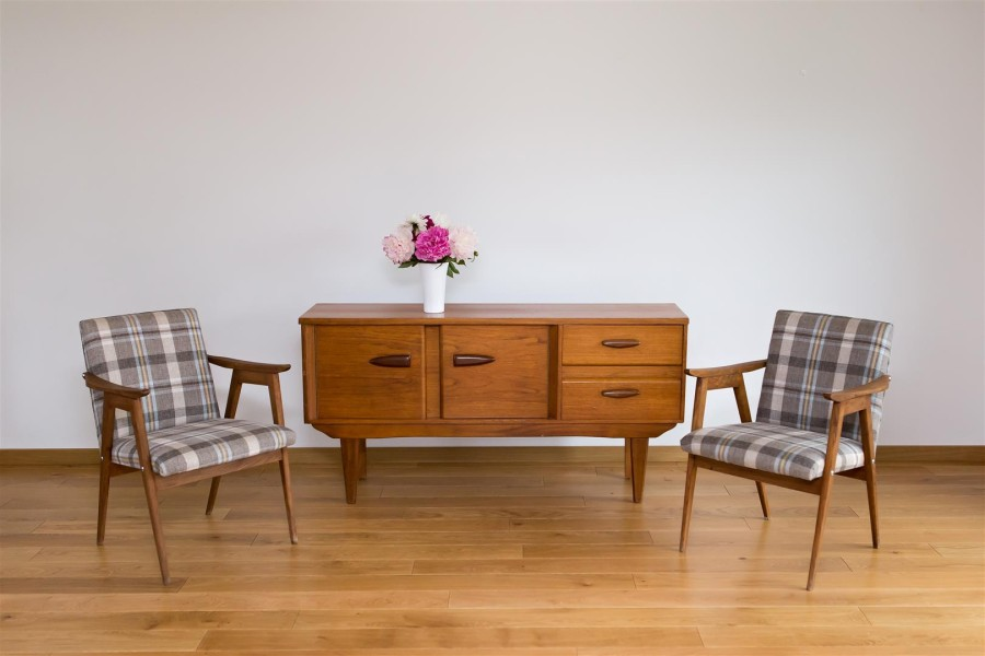 Danish design chest/sideboard of drawers. Teak. 1960.