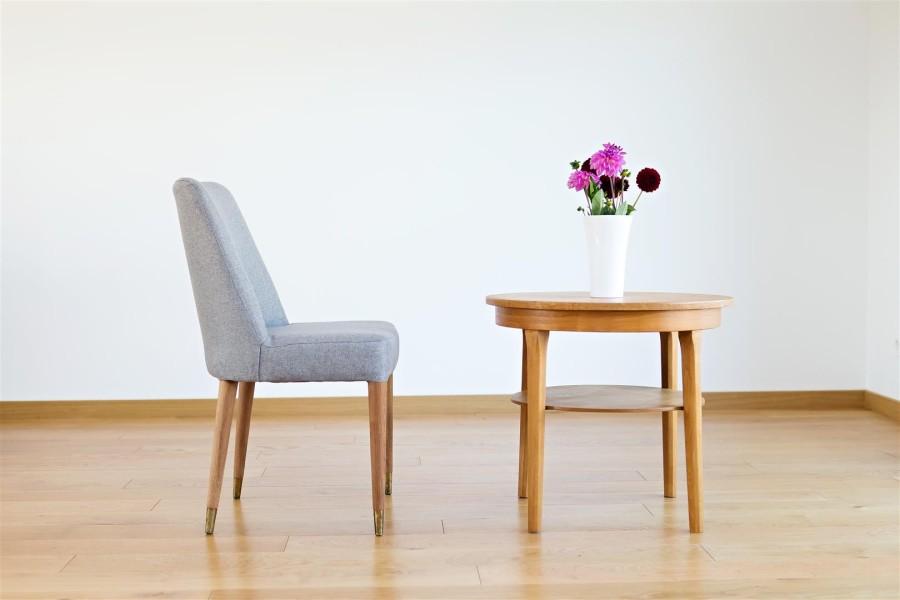Minimalistic chair.